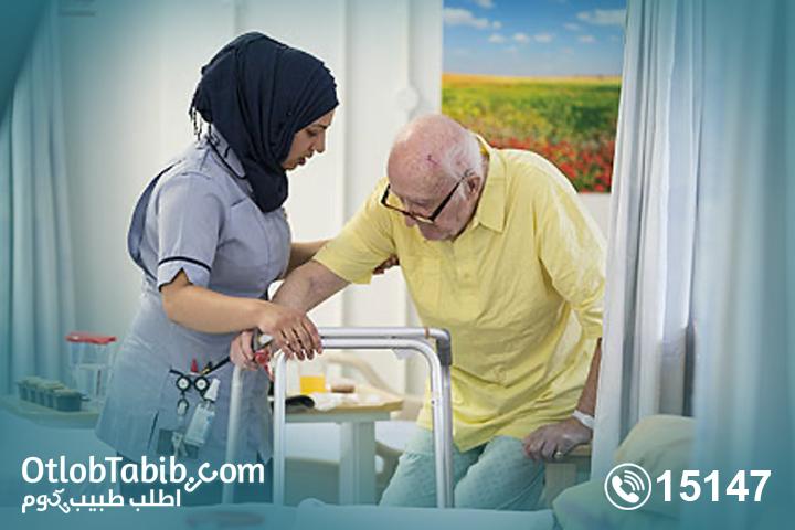 افضل تمريض منزلي في مصر من خلال شركة اطلب طبيب