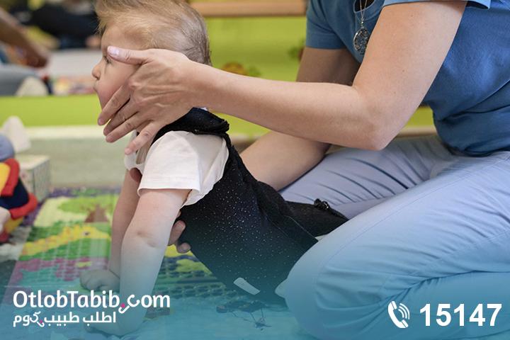 هل تأخر طفلك في الحركة؟ تعرفي على أهمية جلسات علاج طبيعي للاطفال