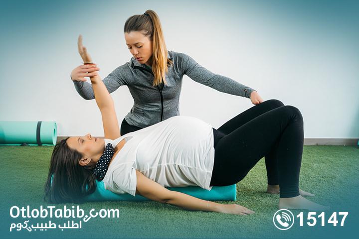 أهمية دور دكتور علاج طبيعي في المنزل لعرق النسا مع الحوامل