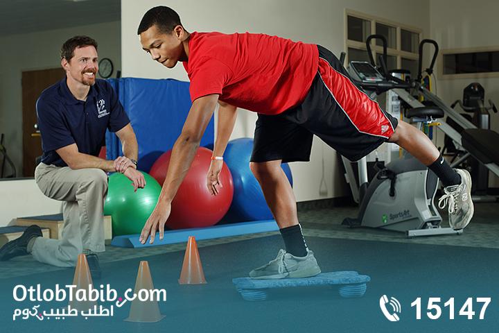 أبرز التدريبات لتقوية عضلات الفخذ مع اخصائي علاج طبيعي اصابات ملاعب