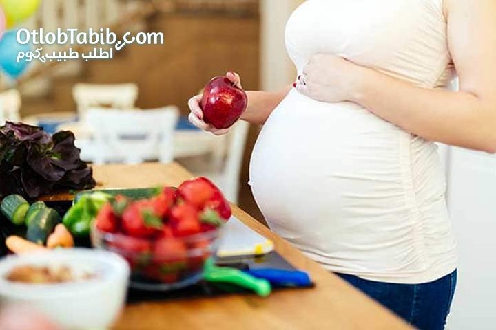طريقة التغذية الصحيحة للمراة الحامل بداية من الحمل وحتى الولادة