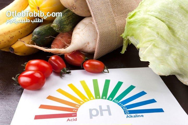 كيف تعادل بين حمضية وقلوية الدم عن طريق الأكل؟