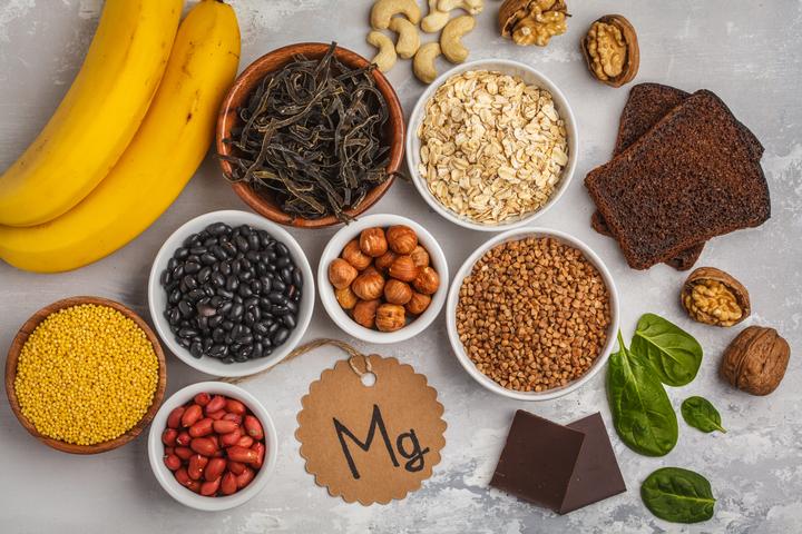 المغنيسيوم من أهم المعادن التي يبحث عنها الجسم في الطعام اليومي